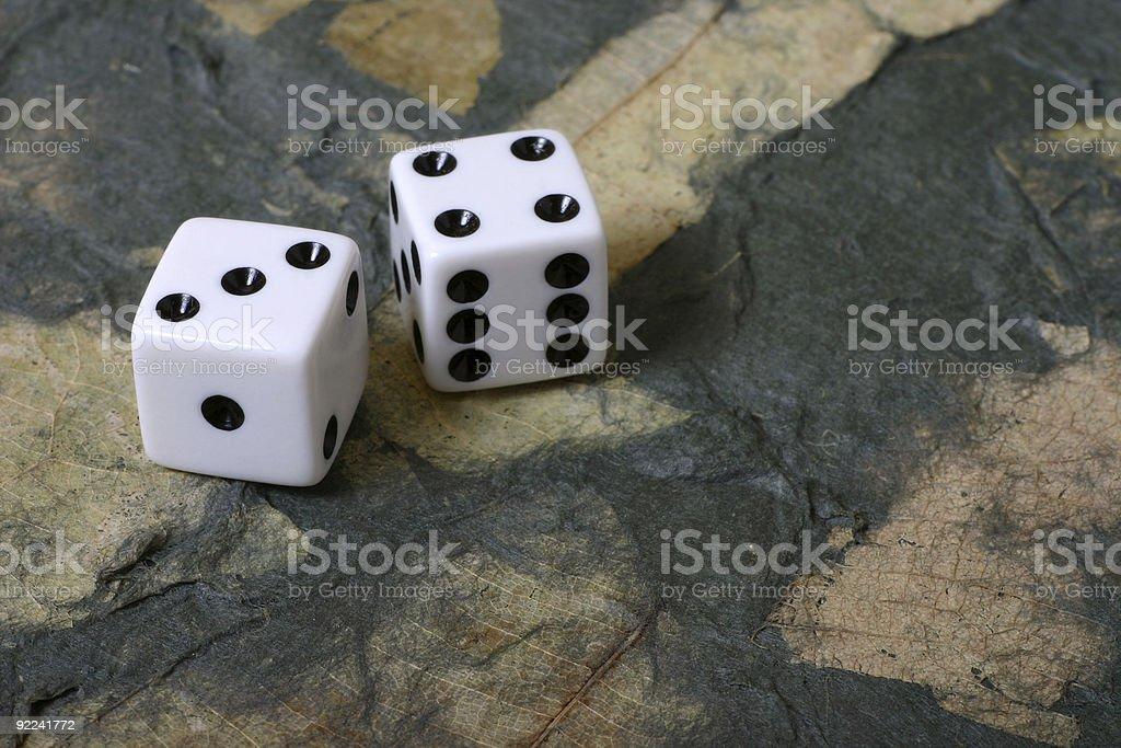 Environmental Gambling stock photo