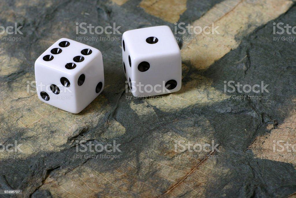 Environmental Gambling royalty-free stock photo