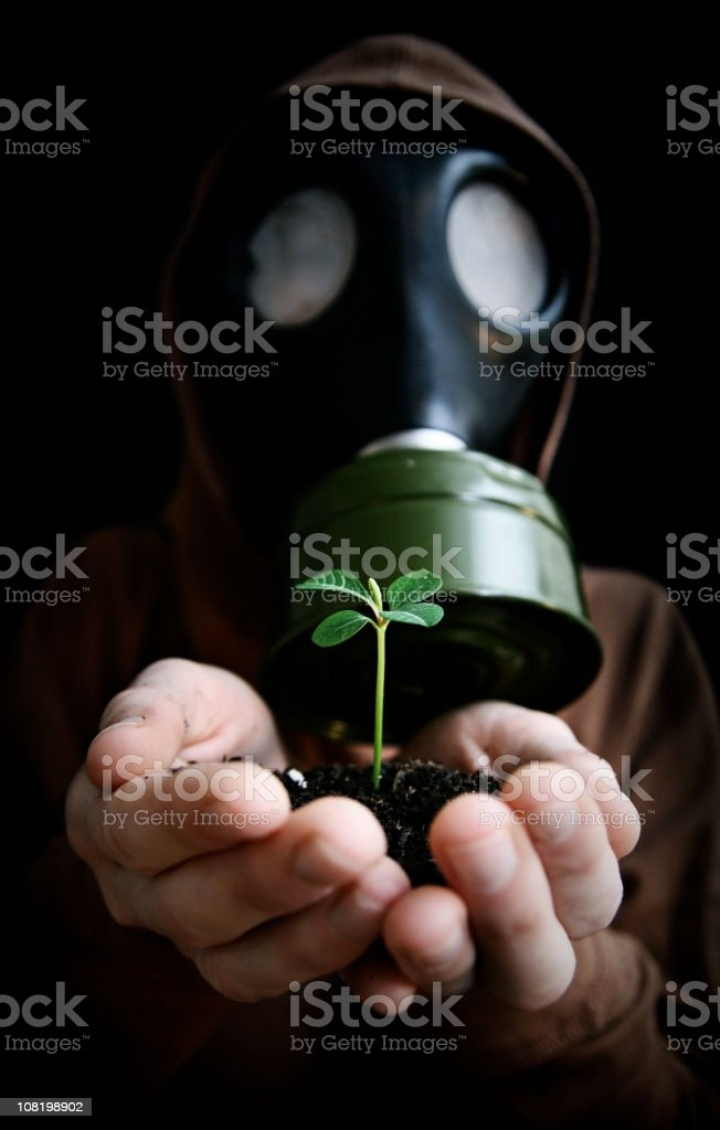 Environmental Offering stock photo