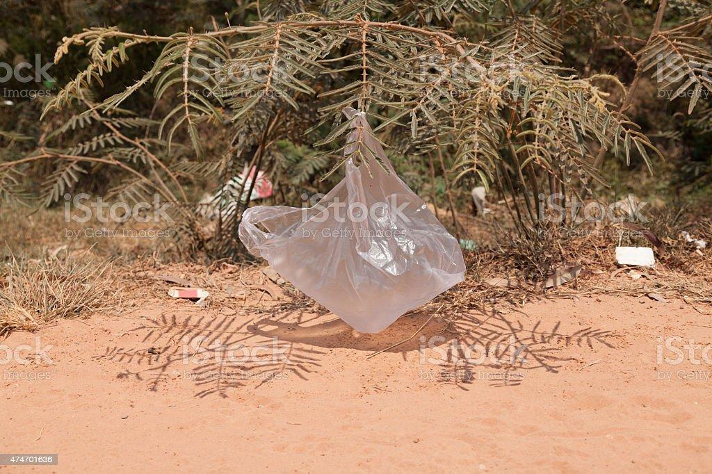 Umweltverschmutzung in Kambodscha – Foto