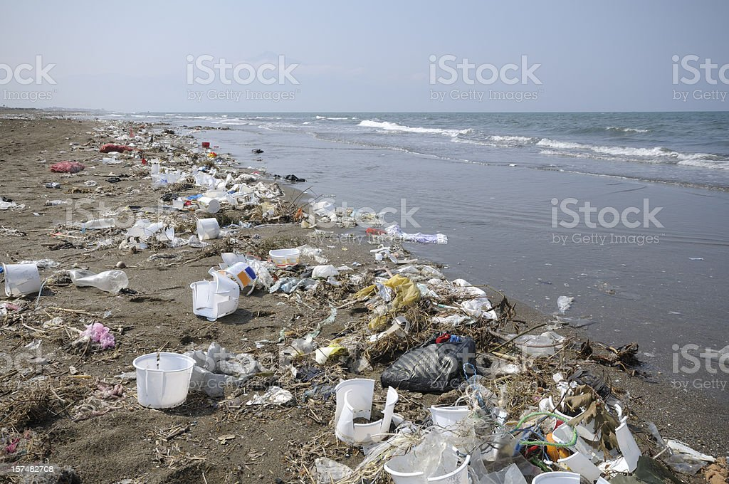 Polución medioambiental - foto de stock