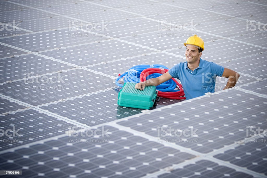 Environmental portrait royalty-free stock photo