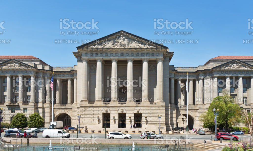 Environmental Protection Agency EPA Building in Washington DC royalty-free stock photo