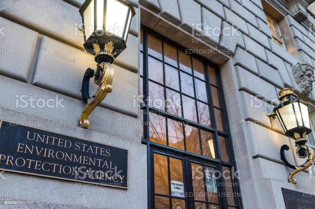 Environmental Protection Agency EPA headquarters stock photo