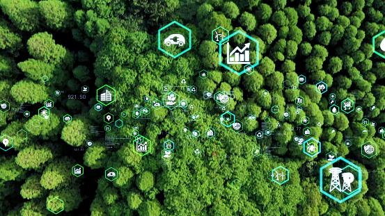Environmental technology concept. Sustainable development goals. SDGs.
