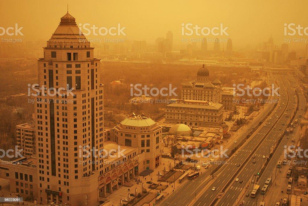 Environmental threat royalty-free stock photo