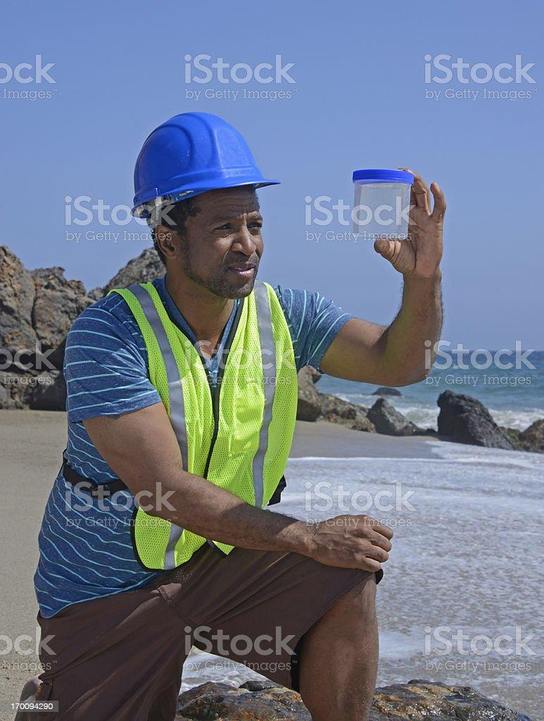 Travailleur de l'environnement - Photo