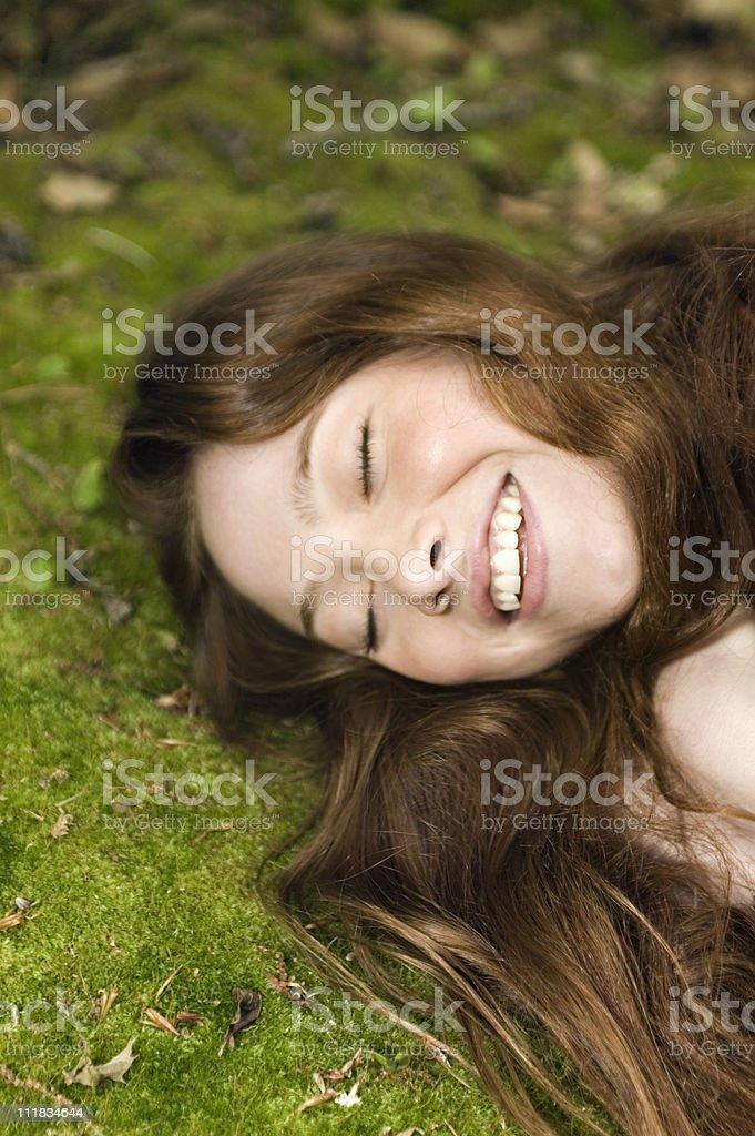 Environmentalist - nature love stock photo