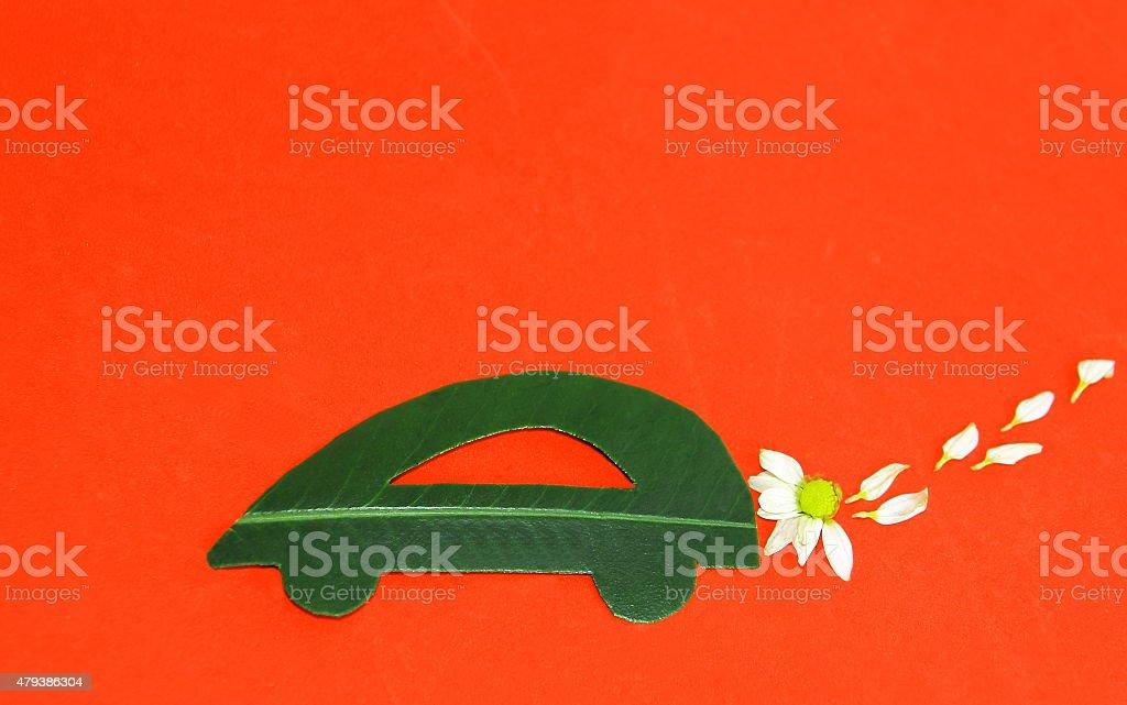 Environmentally friendly car stock photo