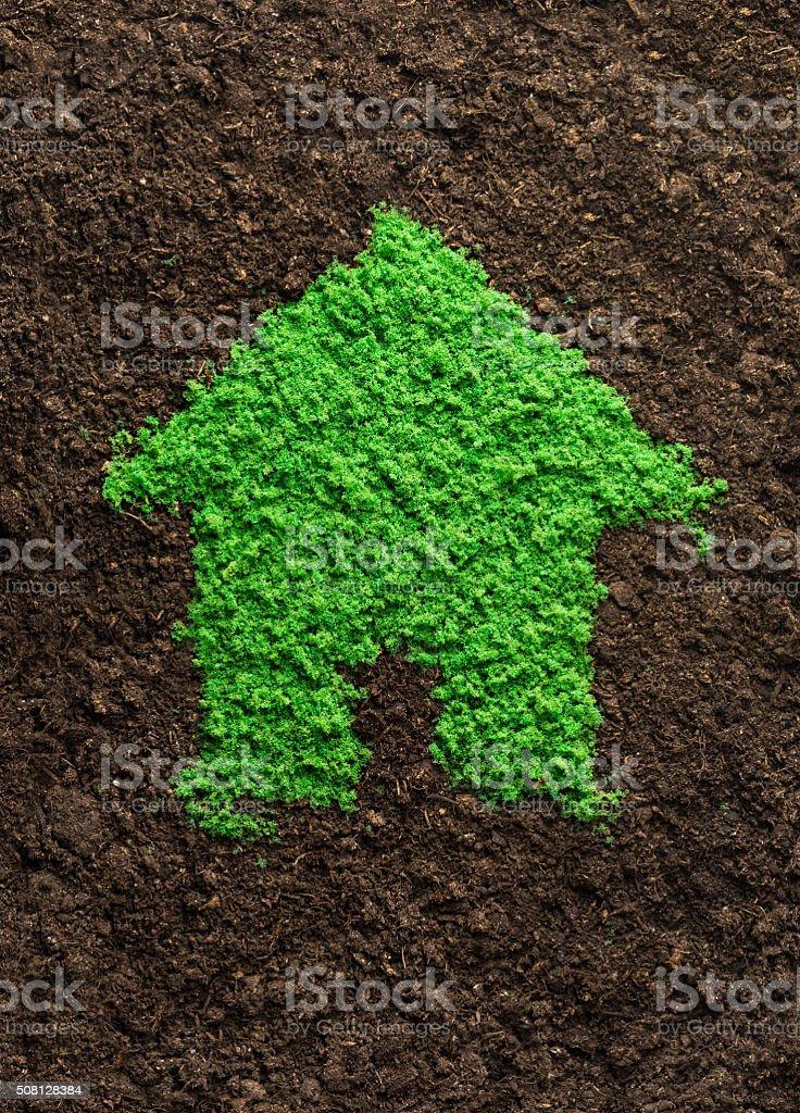 Environmentally friendly living stock photo