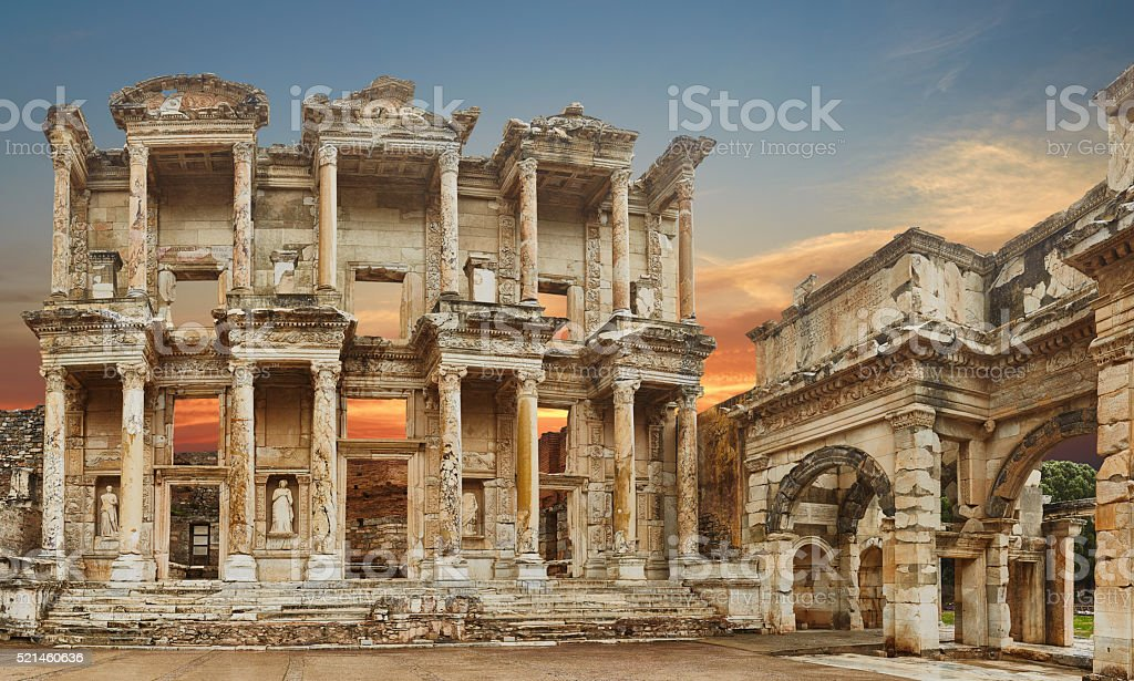 Ephesus - 38 Mpx- XXXL stock photo