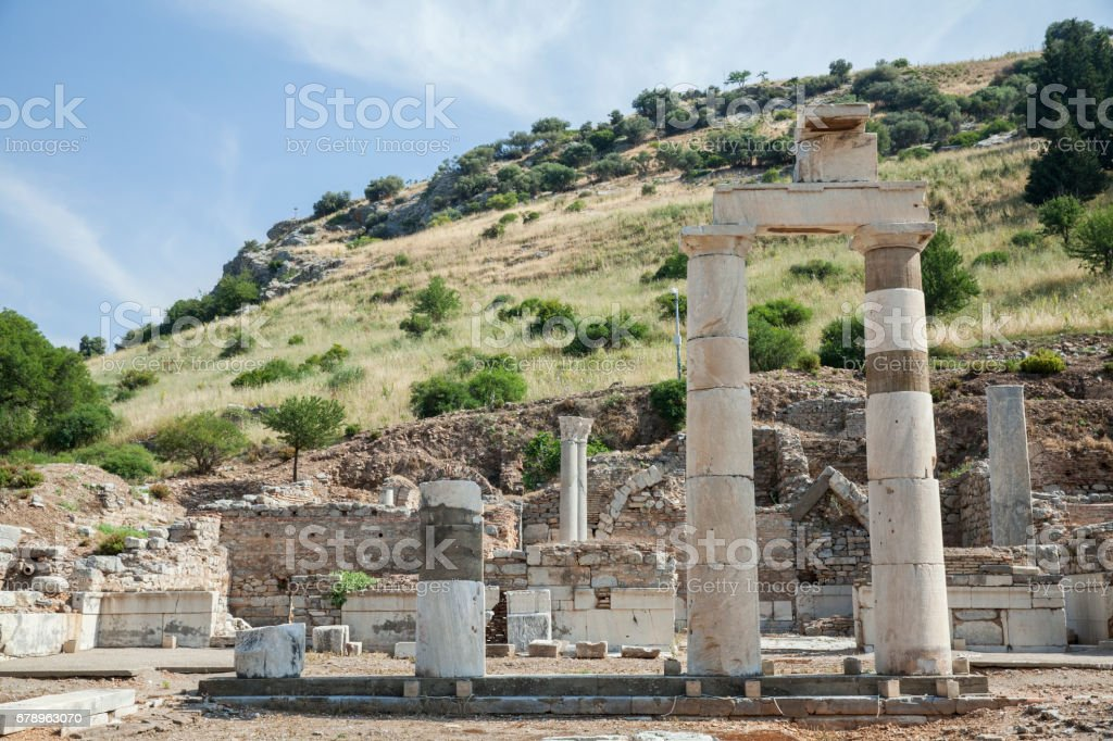 Ephesus Ancient City in Turkey photo libre de droits