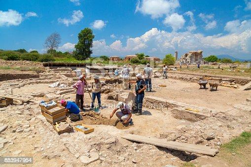 istock Ephesus ancient site, Turkey 883947954