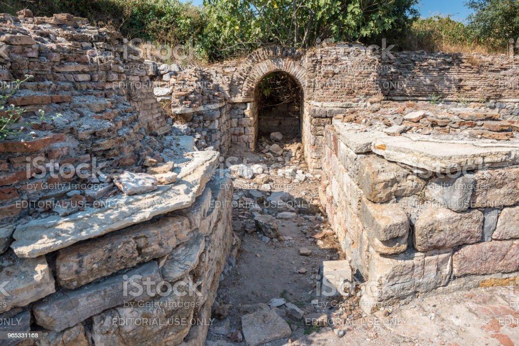 Ephesus historical ancient city, in Selcuk, Izmir,Turkey zbiór zdjęć royalty-free