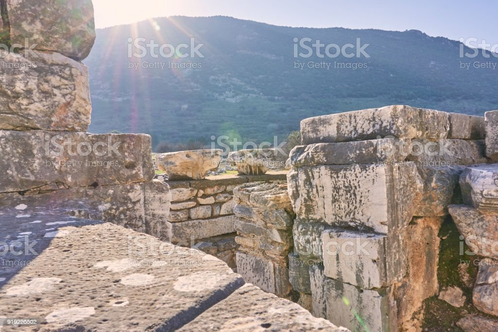 Ephesus, Izmir - Turkey stock photo