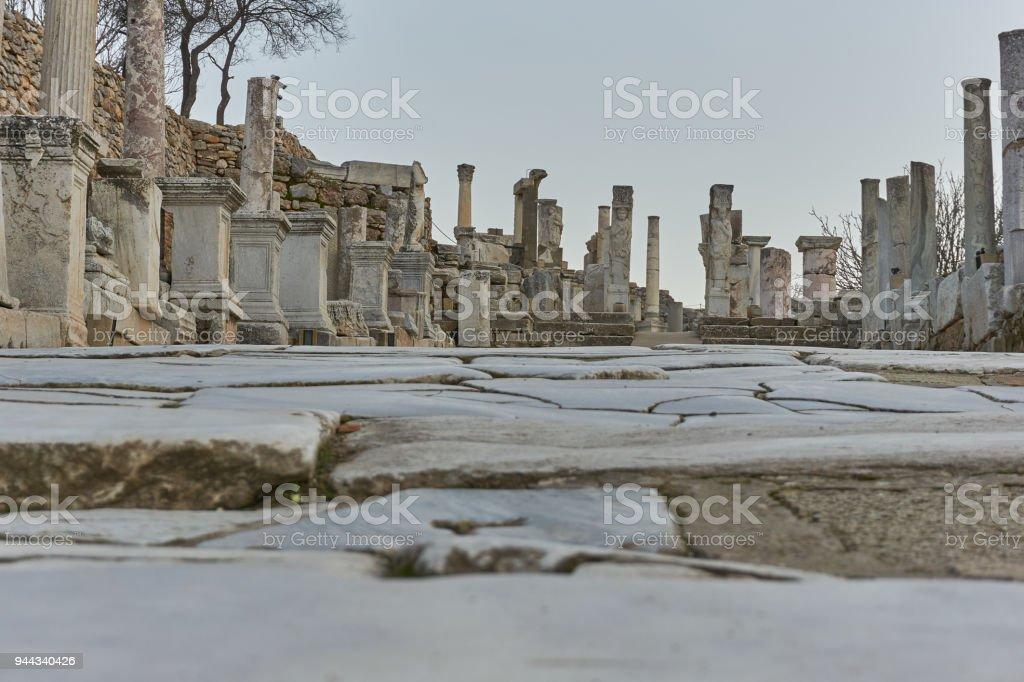 Ephesus , Izmir-Turkey stock photo