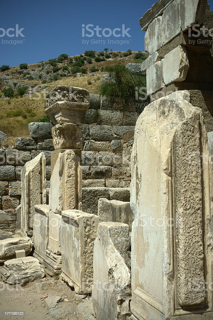 Ephesus royalty-free stock photo