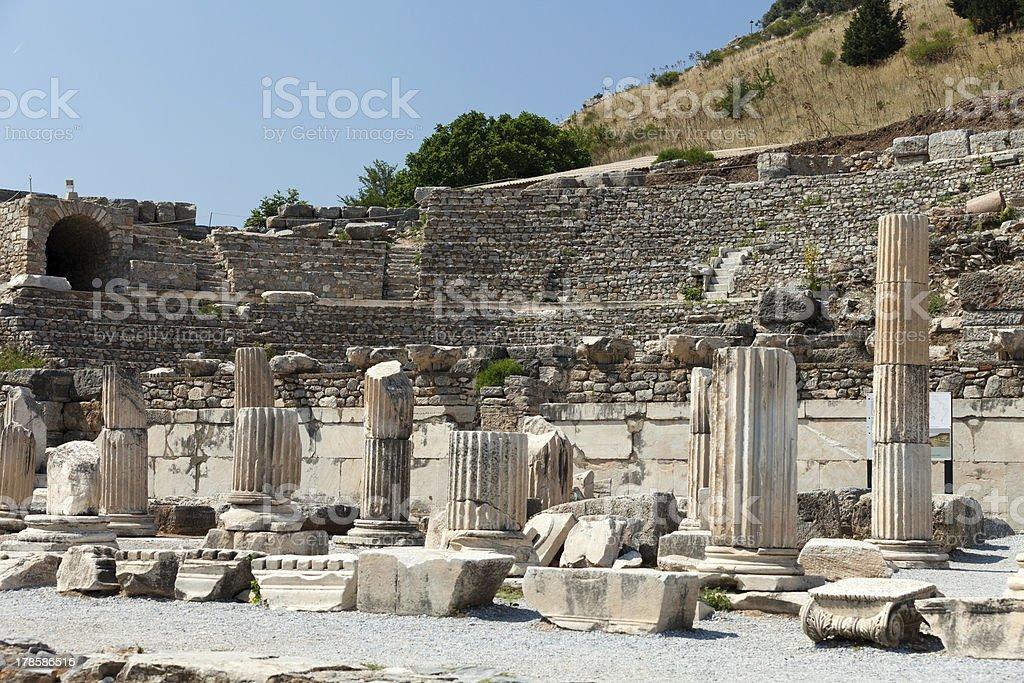 Ephesus royalty-free stock photo