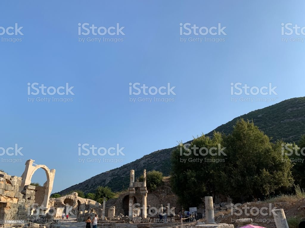 Ephesus is an ancient city in turkey and gives a name to this place...