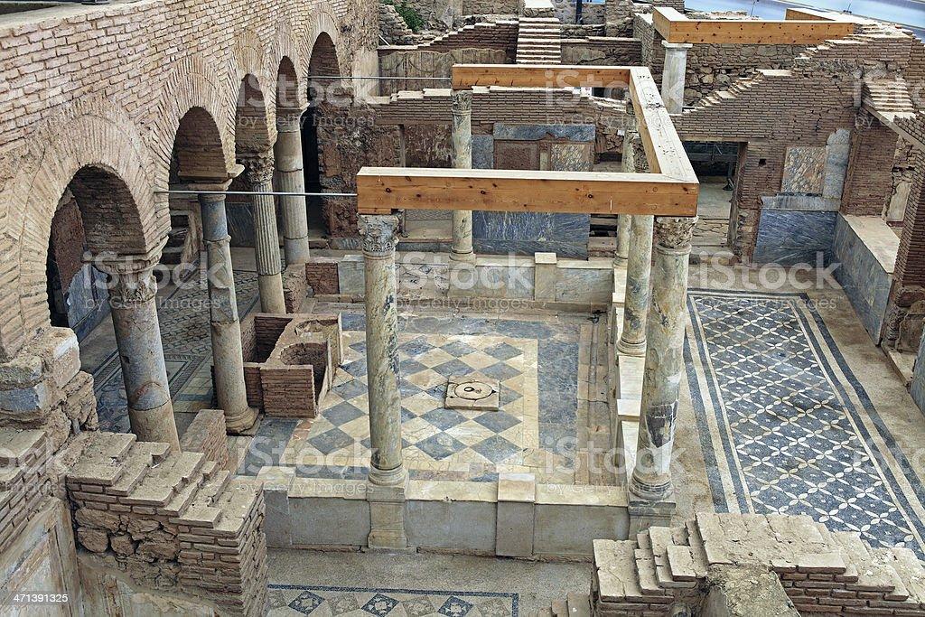 Ephesus Terrace Houses stock photo