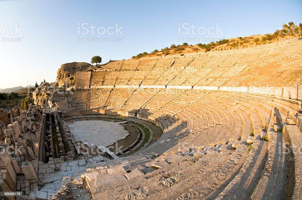 Ephesus Theatre royalty-free stock photo