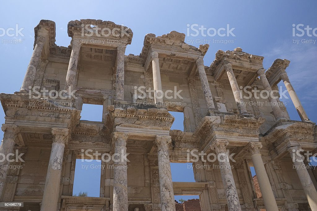 Ephesus, TurkeyCelsus Library royalty-free stock photo