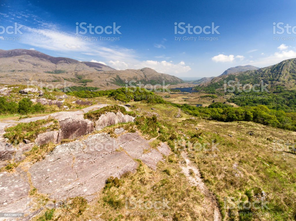 Epic Aerial View Killarney National Park On The Ring Of