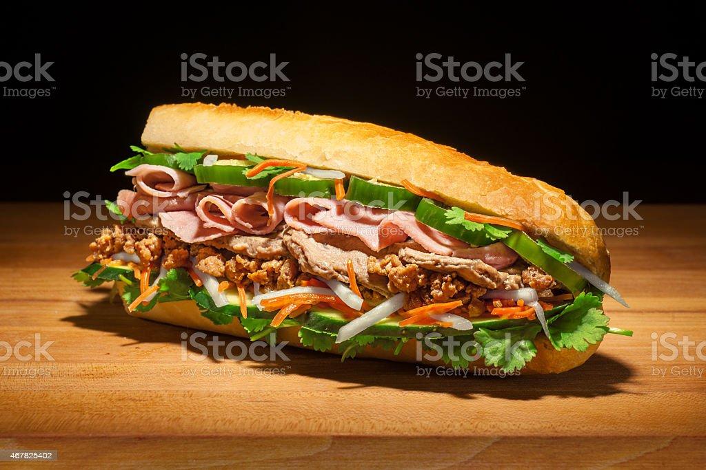 Epic Bánh mì Sandwich stock photo