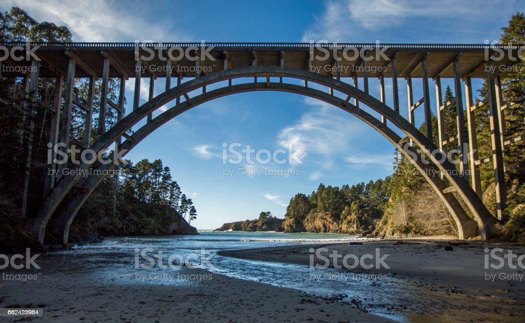 Epic Bridge royalty-free stock photo