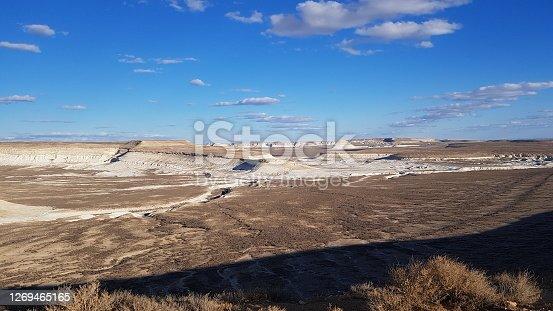 Epic Kazakh Desert in Bozshira, Ustyurt Plateau, Kazakhstan