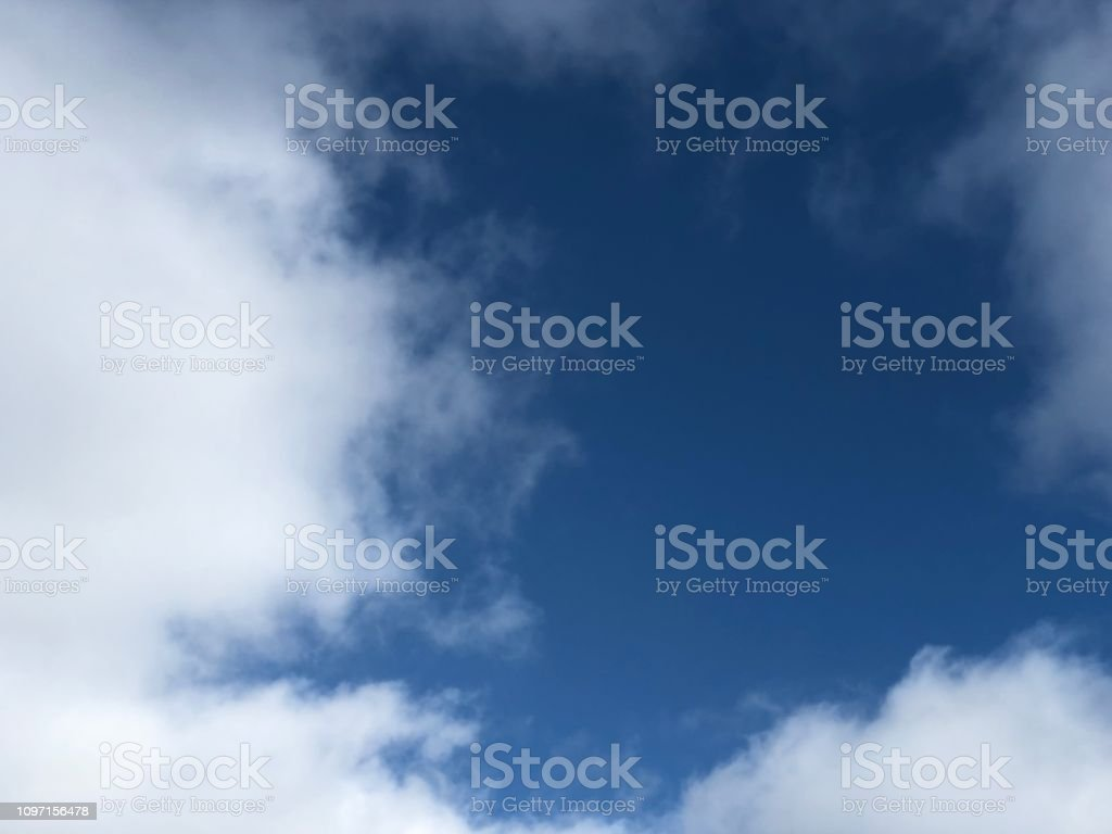 Cumulus Clouds and Gorgeous Blue Sky
