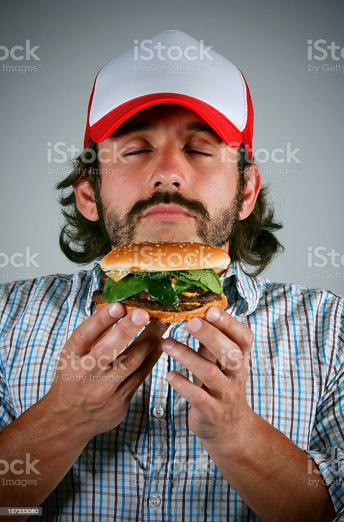 epicurean trucker royalty-free stock photo