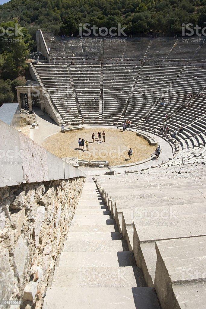Epidavros, Greece royalty-free stock photo