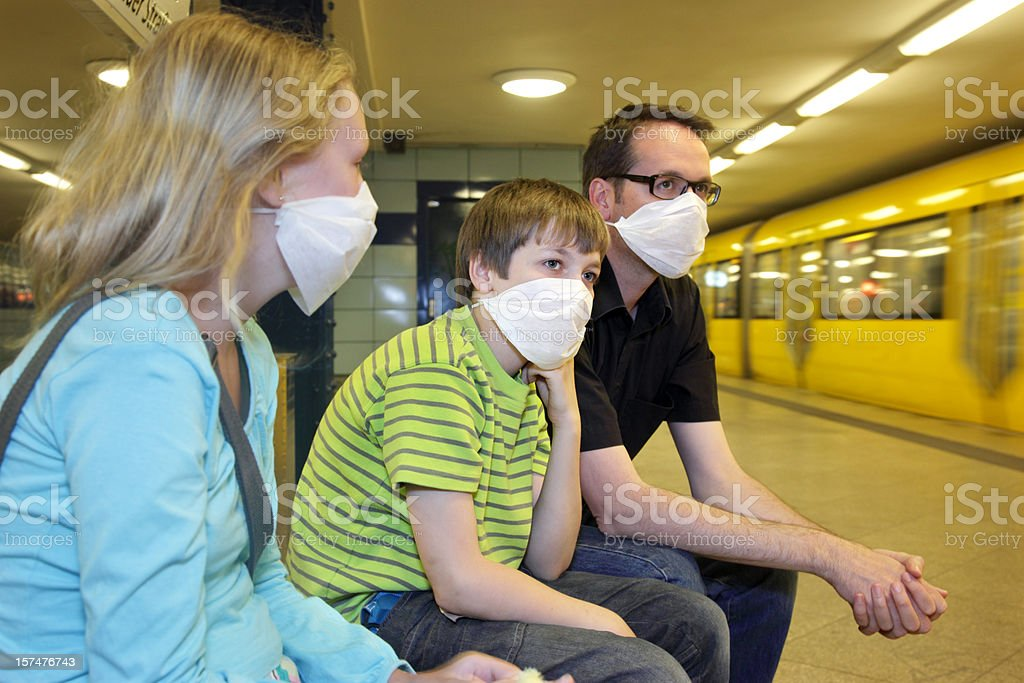 Epidemic Protection or Panic royalty-free stock photo