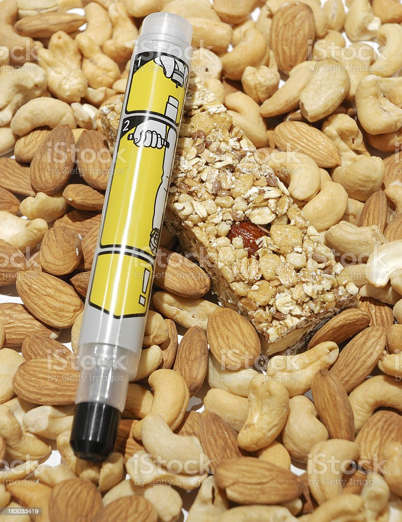 Epipen for allergy. royalty-free stock photo