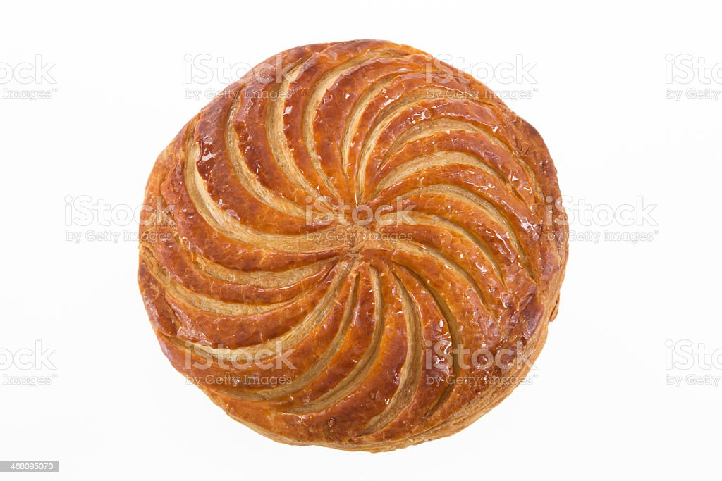 epiphany  galette des rois , king cake stock photo