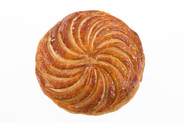 epiphany  galette des rois , king cake stock photo