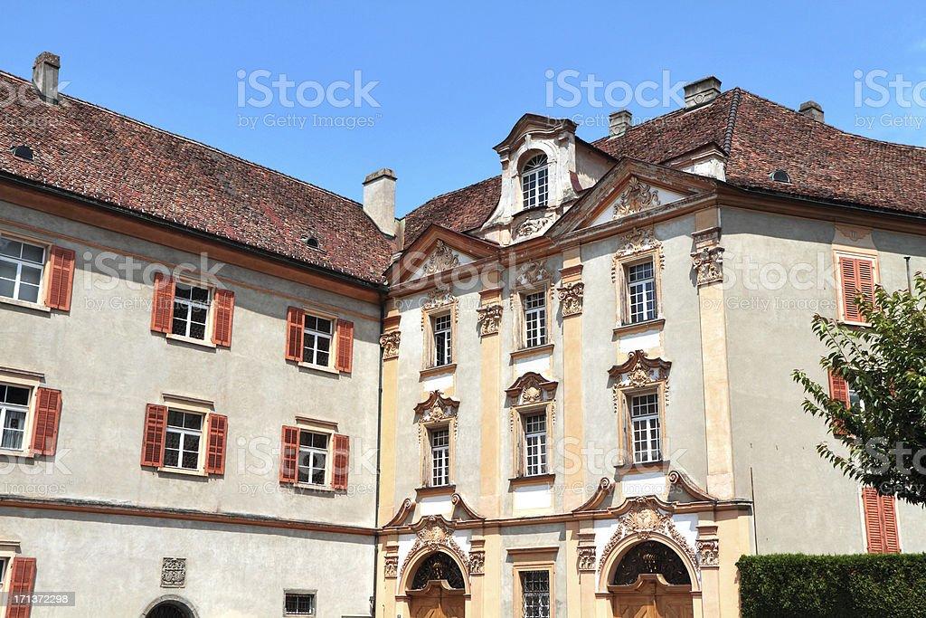 Episcopal Castle, Chur, Graubünden, Switzerland stock photo