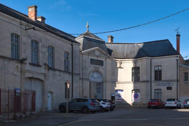 Episcopal palace of Verdun stock photo