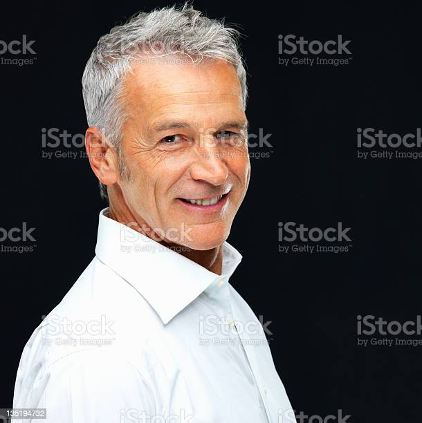 Epitomy Of A Successful And Mature Man Stock Photo - Download Image Now
