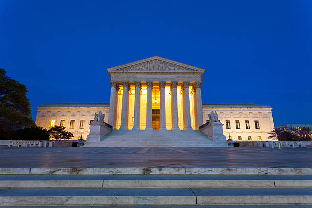 Equal justice under law  us supreme court building stock pictures, royalty-free photos & images
