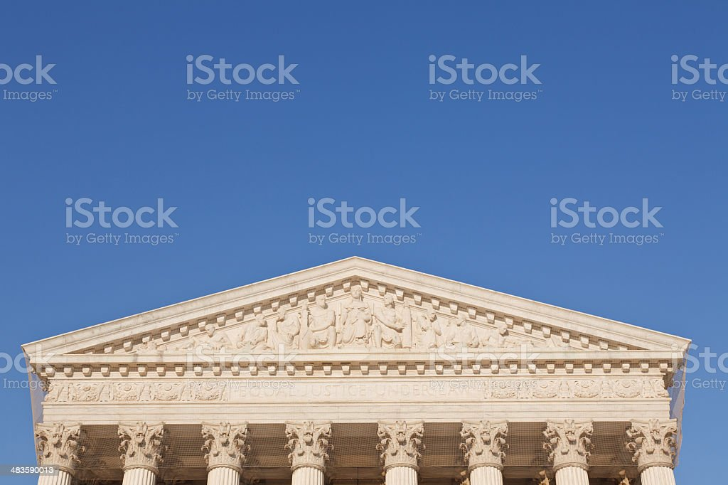 'Equal Justice Under Law,' US Supreme Court royalty-free stock photo