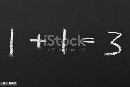 532357605istockphoto equation on a chalkboard 471496795