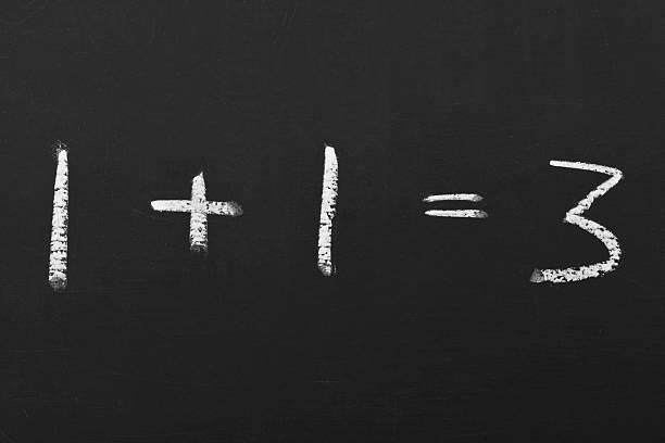 equation auf einer Tafel – Foto