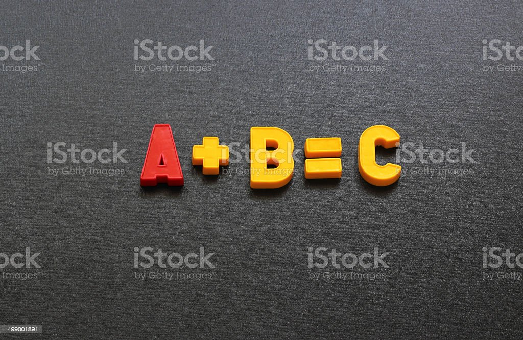 equation royalty-free stock photo