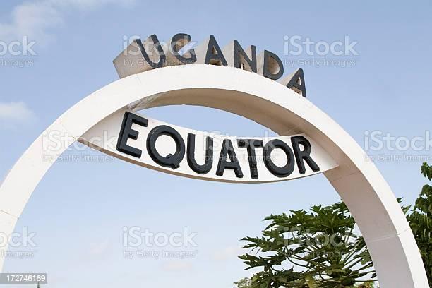 Equator In Uganda Stock Photo - Download Image Now