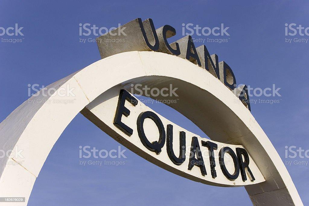 Equator stock photo