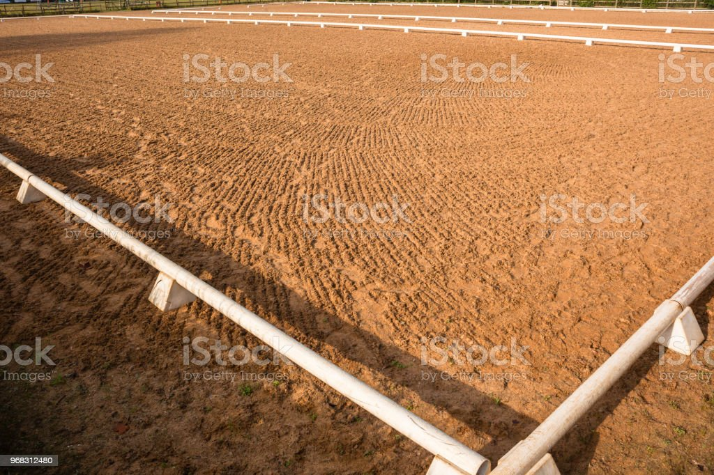 Equestrian Horse Arena stock photo