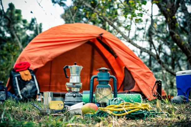 Équipement et accessoires pour la randonnée dans le désert - Photo