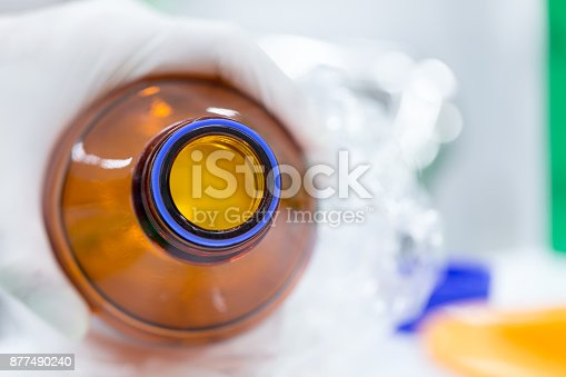 680508160 istock photo Equipment for analyze samples bacteria into the agarose gel and for the separation of DNA fragments in Laboratory. 877490240